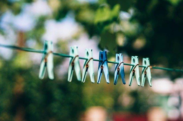 洗濯(陰干し)