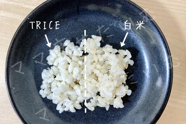 比較白米トライス(透かし)